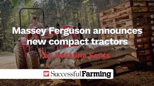 Massey Ferguson compact tractor thumbnail