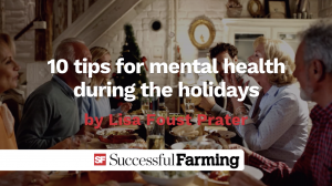 Thumbnail image for 10 tips for mental health during the holidays