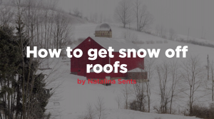 Thumbnail image for how to get snow off roofs