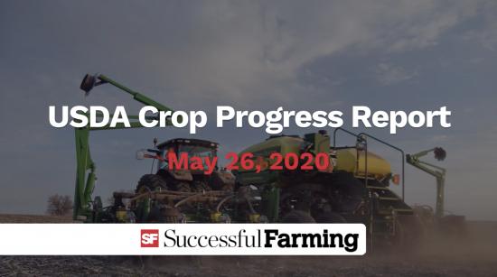 USDA Crop Progress Report 5.26.20