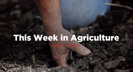 What you missed this week in agriculture