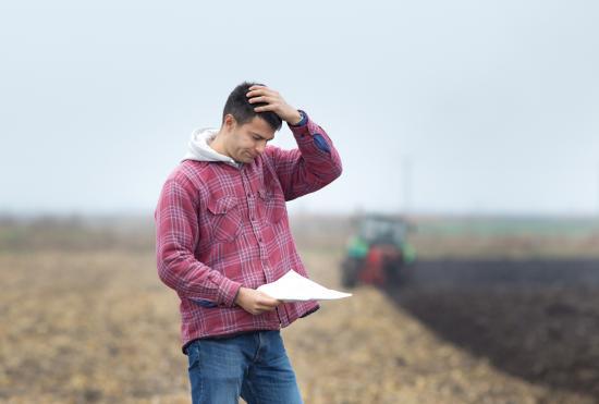 Financial stress rising in farm sector